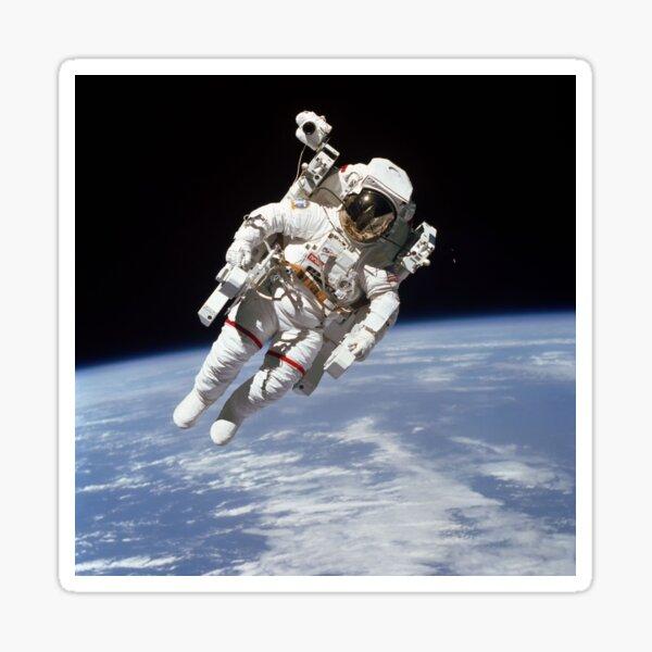 Astronaut Bruce McCandless on First-ever Untethered Spacewalk Sticker