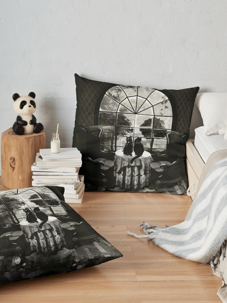 Alternate view of Room Skull Floor Pillow