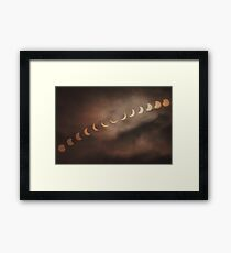 Solar Eclipse 2015 Framed Print