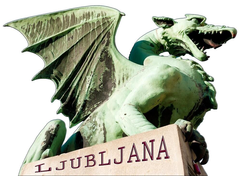 Ljubljana: City of Dragons by Rae Tucker