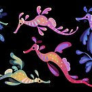 Sea dragons by pikaole