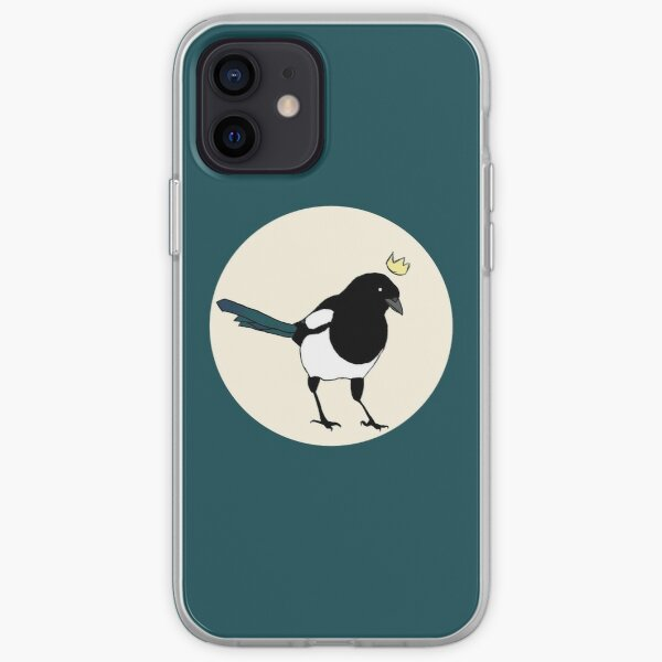 King Magpie iPhone Soft Case
