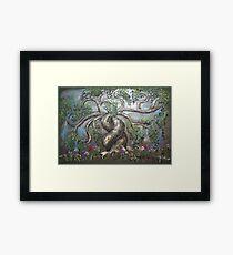 "Tree of Life ""L'arbre de Vie"" Framed Print"
