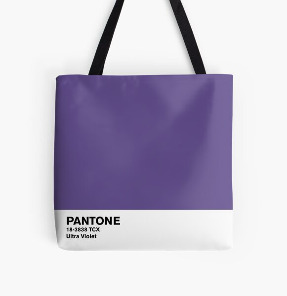 Ultra Violet Pantone All Over Print Tote Bag