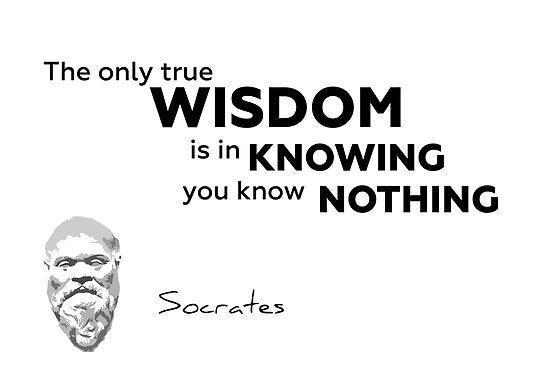 wisdom, nothing - Socrates by razvandrc