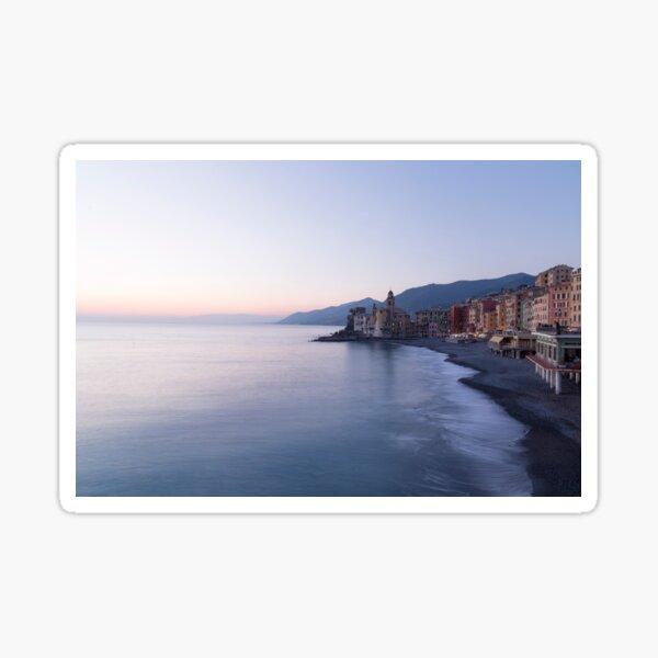 Sunset in Camogli Sticker