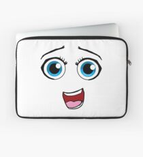 Silly Face Laptop Sleeve