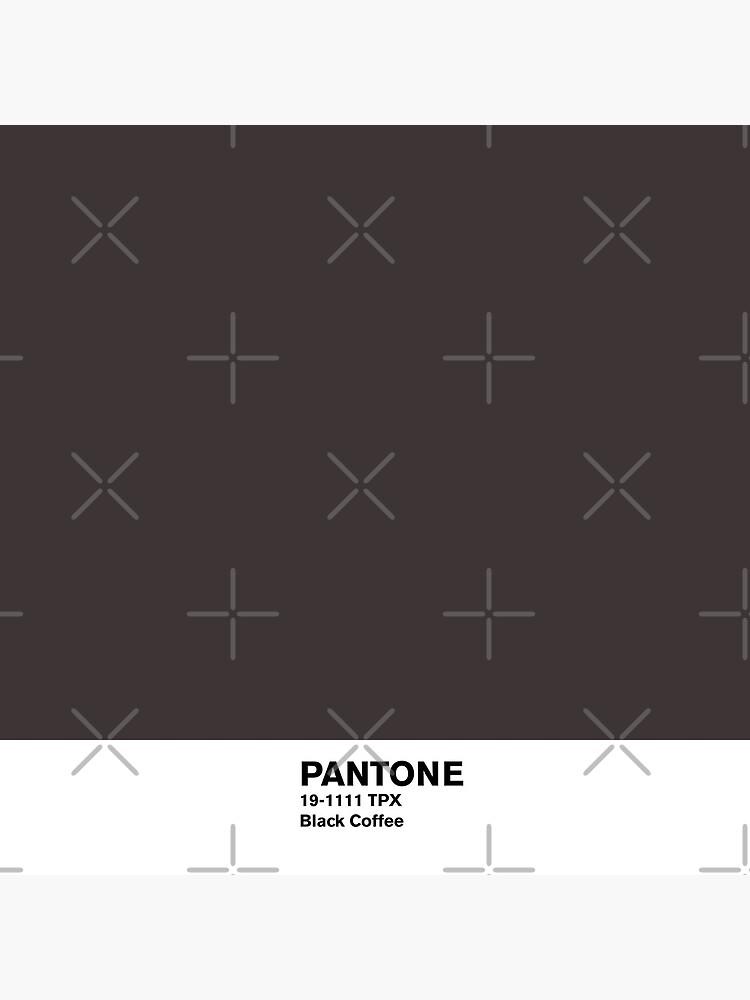 Black Coffee Pantone by coverinlove