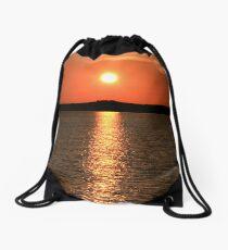 Little Eye Sunset Drawstring Bag