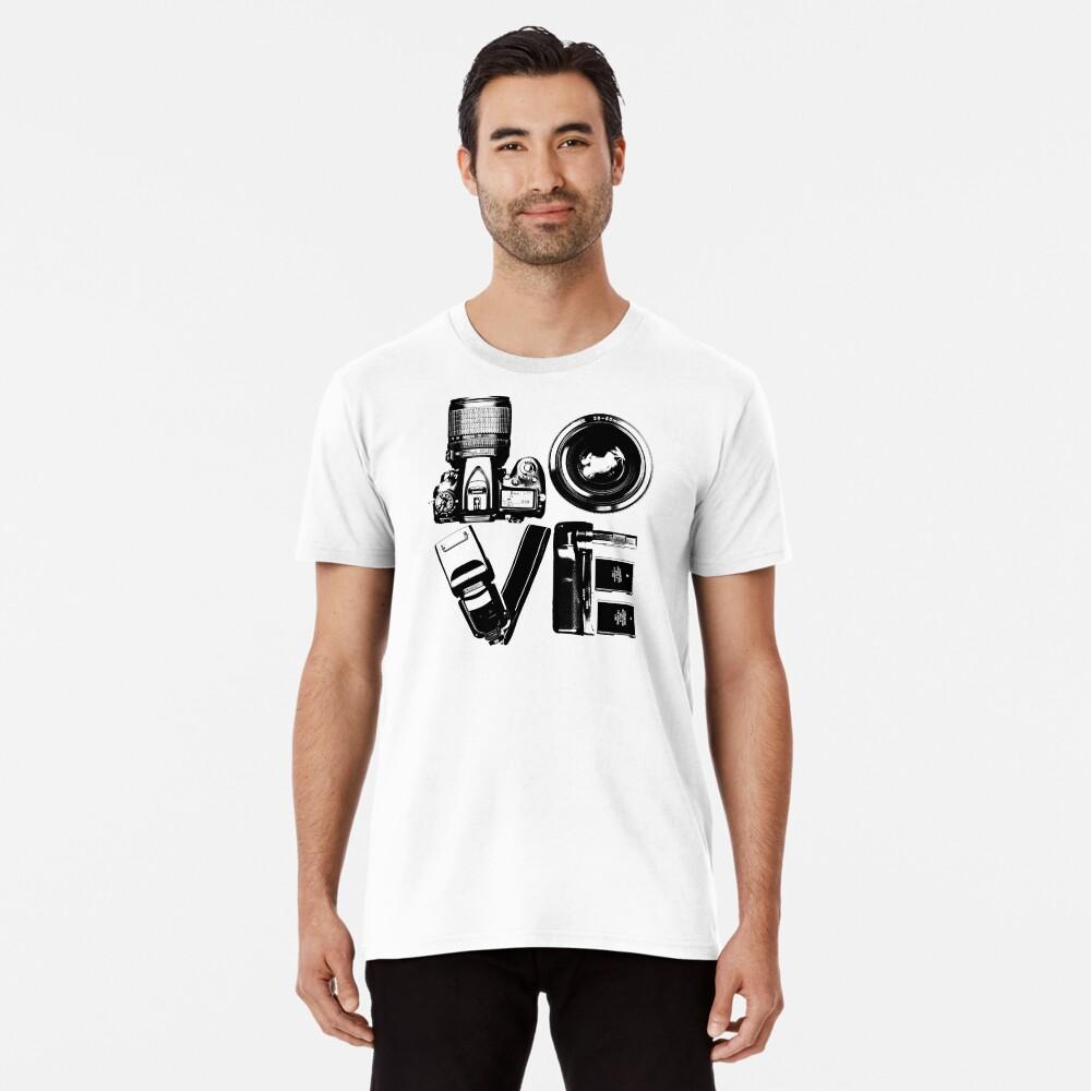 Love Photography Premium T-Shirt