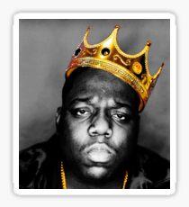 Pegatina El rey notorio GRANDE