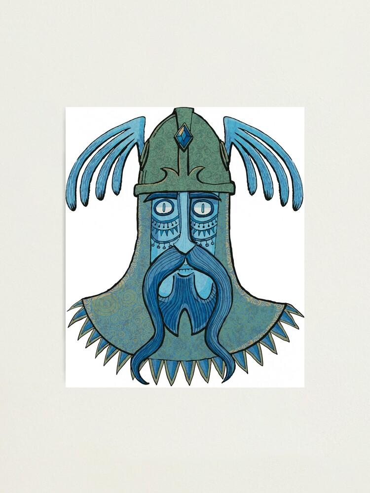 Alternate view of Celtic warrior Photographic Print