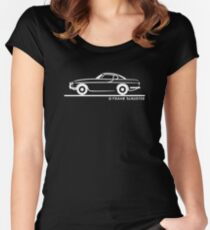 Volvo P1800 Women's Fitted Scoop T-Shirt