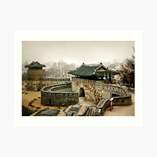 Old Fort Art Print