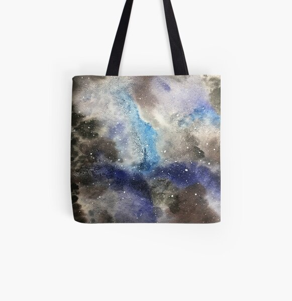 Space Exploration All Over Print Tote Bag