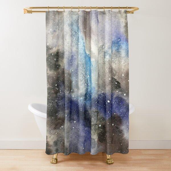 Space Exploration Shower Curtain