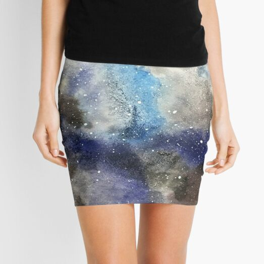 Space Exploration Mini Skirt