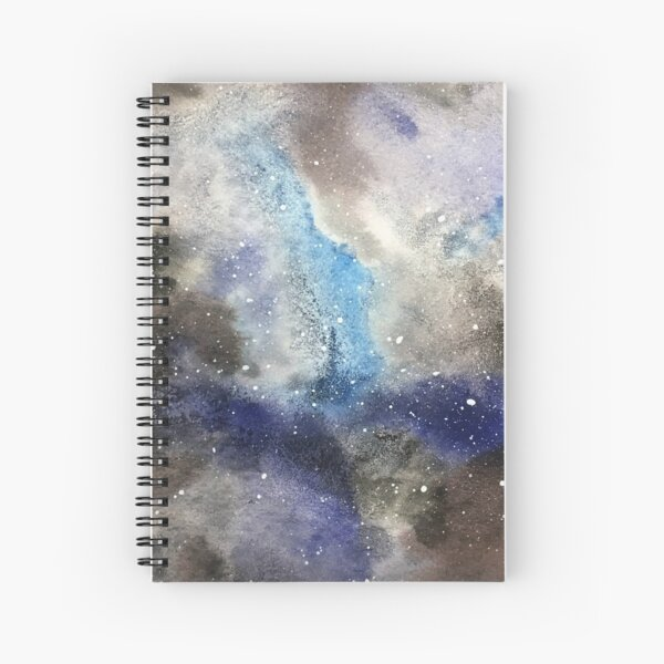 Space Exploration Spiral Notebook