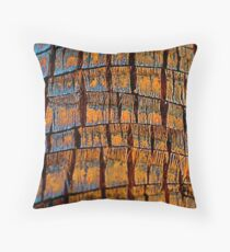 Palm Tree Abstract#2 Throw Pillow