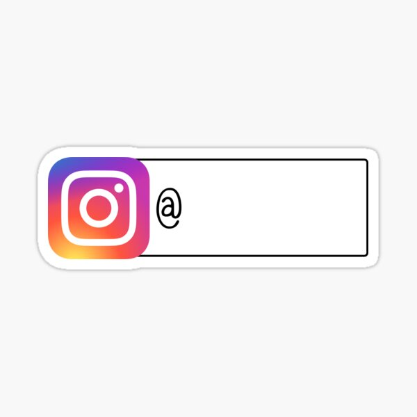 Follow Me on Instagram Sticker