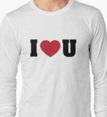 I<3U Long Sleeve T-Shirt