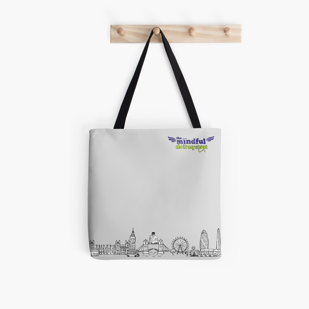 The Mindful Delinquent Tote Bag Tote Bag