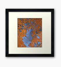 abstract oxide Framed Print