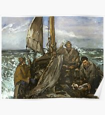 Manet - The Toilers of the Sea,1873  Poster