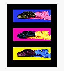 Subaru STi Drift Print Photographic Print