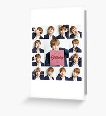 Happy birthday V ! Greeting Card