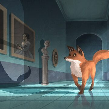 Cultured fox by angicita