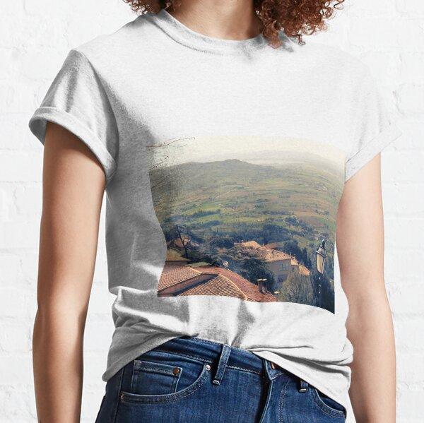 Cortona. Italy. Tuscany Classic T-Shirt