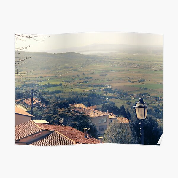 Cortona. Italy. Tuscany Poster