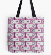 SNES Controller Pattern Tote Bag