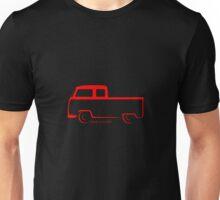 VW Bay Window Shape Crew Cab Unisex T-Shirt