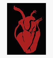Open Heart Photographic Print