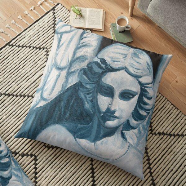 Serenity - Angel Statue Floor Pillow