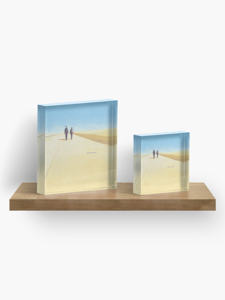 Alternate view of Of Mice and Men, John Steinbeck - Literary bookish gift, book lover Acrylic Block