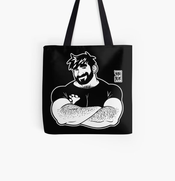 ADAM LIKES CROSSING ARMS - LINEART All Over Print Tote Bag
