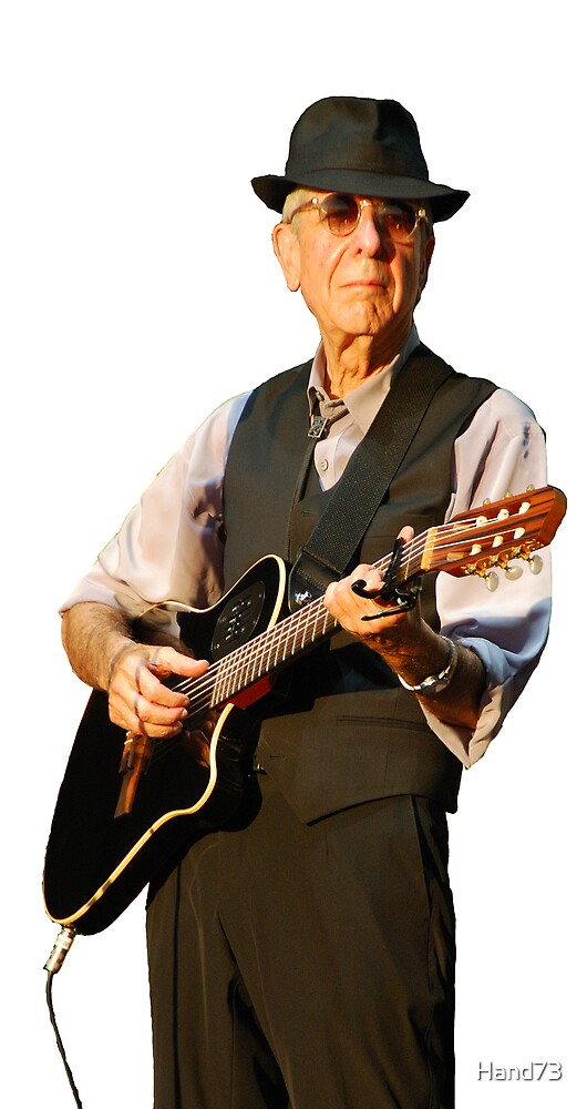 Leonard Cohen by Hand73