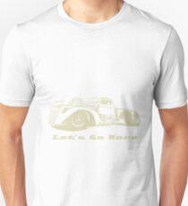Let's Go Race Custom Retro Rat Rod Enthusiast Unisex T-Shirt
