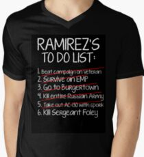 Ramirez's To-Do List Men's V-Neck T-Shirt