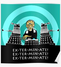 EX-TER-MIN-ATE Poster