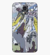 Palms and Pickets at Dawn Case/Skin for Samsung Galaxy