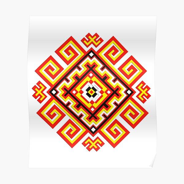 ethnic ornament Poster