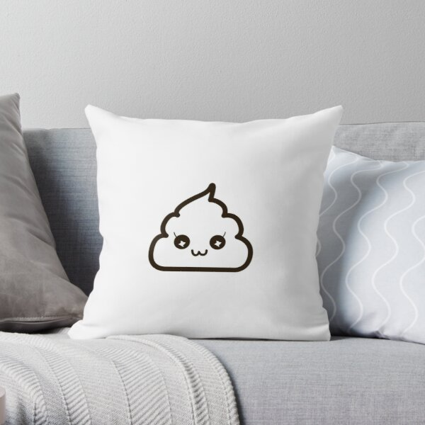 Miss Poopular Throw Pillow