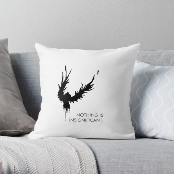 Nothing is Insignificant  Throw Pillow