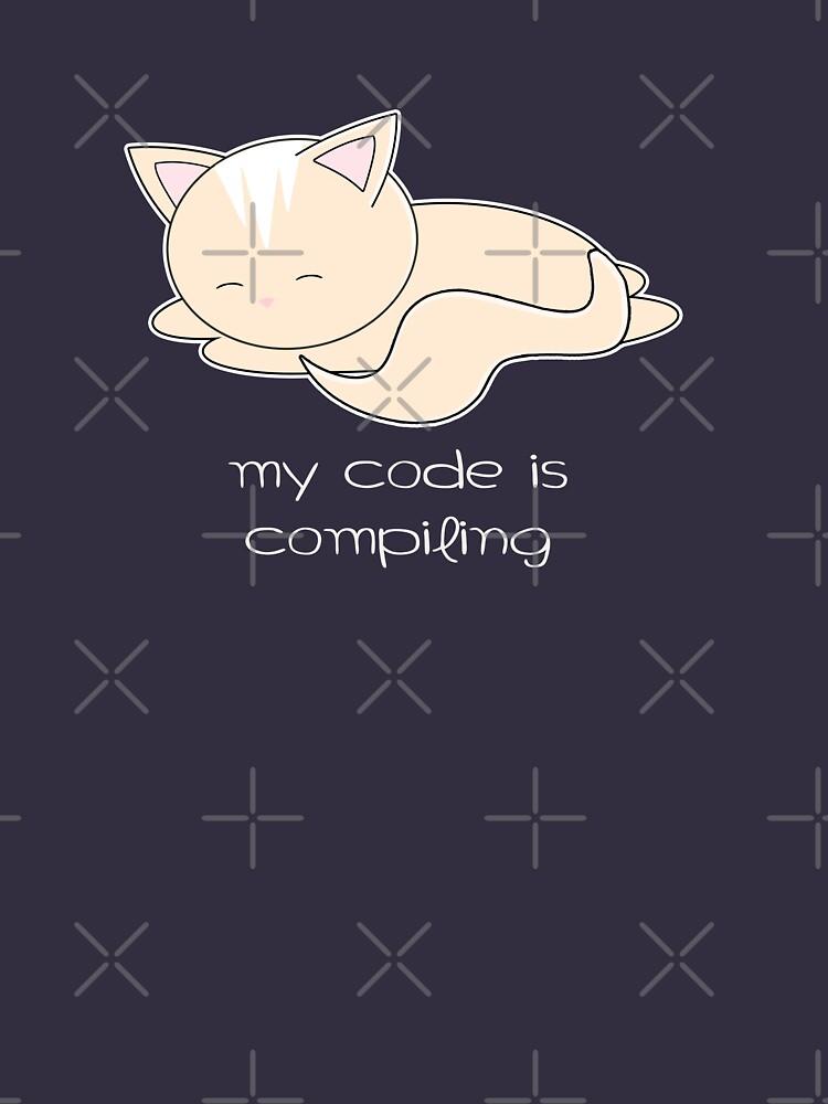Coder Cat  by geteez