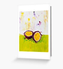 The Fruit and the Passion Greeting Card