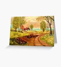 The Road Home Greeting Card